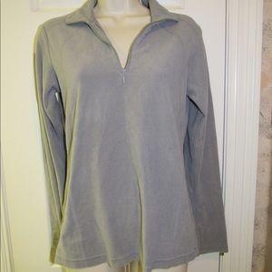 Women's Small Gray Columbia Fleece